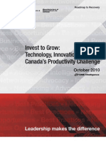 Investment and Innovation - Canda