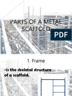 Parts of a Metal Scaffold