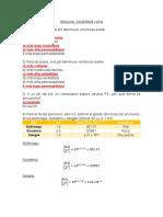 Ejercicios PKa y Solubilidad