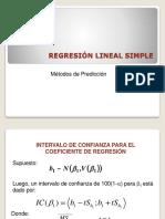 2. Análisis de Regresión y Correlación Lineal Simple