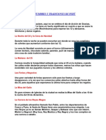 Costumbres y Tradiciones de Perú Ingles