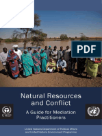 -Natural Resources and Conflic