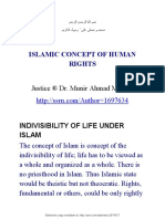 Islamic Concept of Human Rights