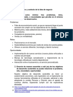 Análisis Del Entorno y Contexto de La Idea de Negocio