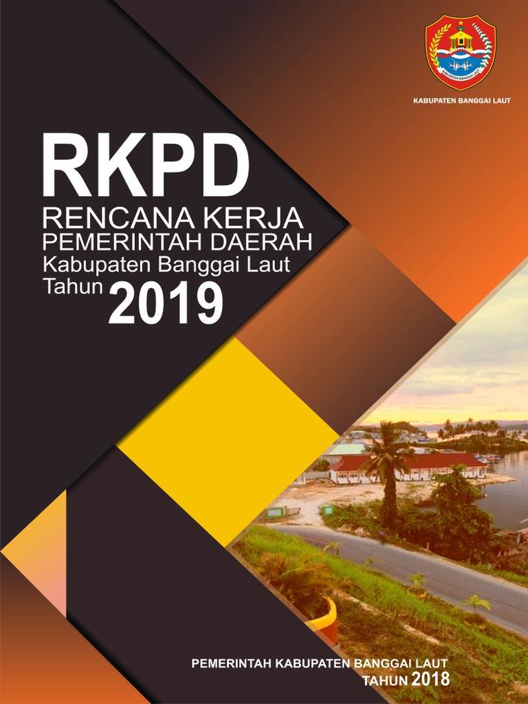Rkpd Pemerintah Daerah Kabupaten Banggai Laut Tahun 2019