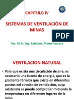 CAP. IV SISTEMAS VENTILACION MINAS (Vent. Natural y Reguladores aire).pptx