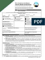 1. Registration Form