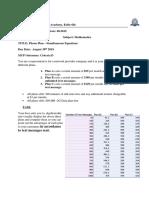 showaib sarwary 2019 phone plan - simultaneous equations assignment final
