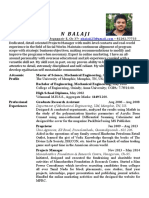 n Balaji Resume May 2014