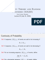 Lecture 3 Probability