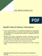 Ahimsa (Nonviolence)
