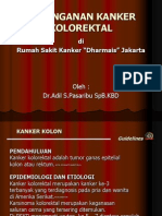 "Penanganan Kanker Kolorektal Di Rumah Sakit Kanker ""Dharmais"" Jakart"