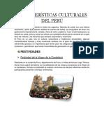 Características Culturales Del Perú