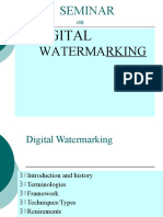 Digital Watermarking Ppt