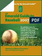 Emerald Guide 2007 Edition