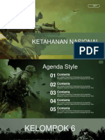 Army Soldier in Action PowerPoint Templates