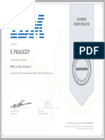 9.Data Science Certificate