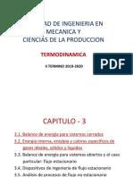TD-Cap-3 (3.1-3.2) Primera Ley de La Termodinamica SC y CE