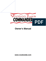 Commander Manual