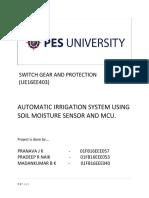 AUTOMATIC IRRIGATION SYSTEM USING SOIL MOISTURE SENSOR AND MCU.docx