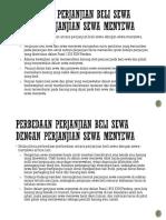 Persamaan perjanjian beli sewa dengan perjanjian sewa menyewa.pptx