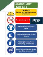 Safety Signage Lab