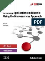 Bluemix MicroService Approach