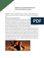 Analisisde Peliculaspor Segmentacio Del Argumento de Rose en La Proa