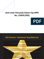 Butir Butir Pancasila Dalam Tap MPR No.pptx