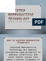 Assisted Reproductive Technology Presentation