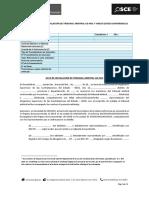 Modelo de Acta de Tribunal Arbitral y Anexo - Videoconferencia (1)