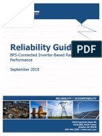 Inverter-Based Resource Performance Guideline NERC