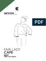 Fair-Lady-Cape Pattern FLC02 ENG