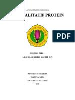 ACARA III. Uji Kualitatif Protein Fix