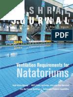 ASHRAE Journal Article July 2017 Pool Ventilation