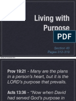 Rick Warren, Purpose Driven Life