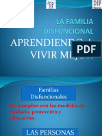 Presentacion La Familia Disfuncional Dif