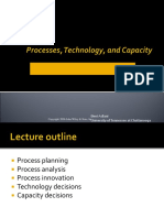 Process, Technology and Capacity