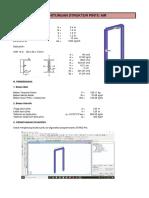 Perhitungan Struktur Pintu Air