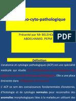 Module d'Anatomie cytopathologique