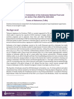 IDN 03-ToR-Formulation of National Food and Nutrition Action Plan-FINAL