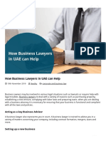 How Business Lawyers in UAE Can Help _ Business Lawyers in UAE
