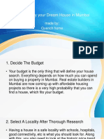 6 Tips to Buy Your Dream House in Mumbai