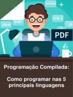 E-book Gratuito - Como Programar Nas 5 Principais Linguagens