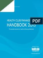 Health Club Management Handbook