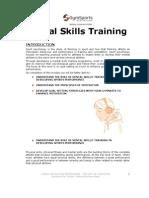 Mental Skills Module