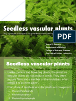 #4 Seedless Vascular Plants