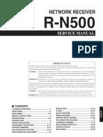 Yamaha r n500
