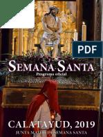 Semana Santa de Catalayud 2019