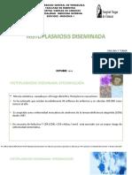 Histoplasmosis diseminada 2019